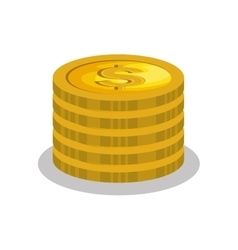 cash money isolated icon vector image