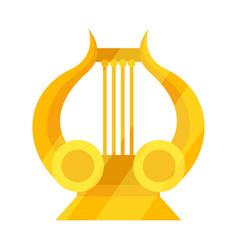 Design lira and apollo symbol set of vector