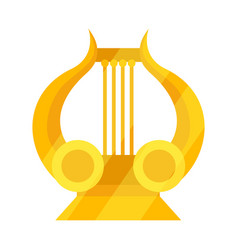Design lira and apollo symbol set vector