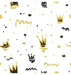 Graffiti seamless pattern vector