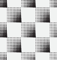 Halftone-background-seamless-pattern vector image