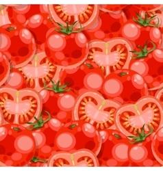 Seamless tomato vector