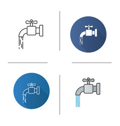 water resources icon vector image