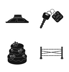 Advertising cooking and or web icon in black vector