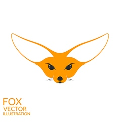 Fennec fox vector image