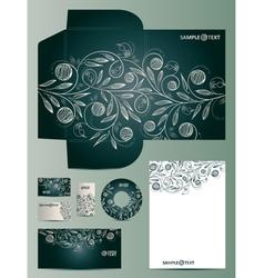 Doodles Corporate Design vector image vector image