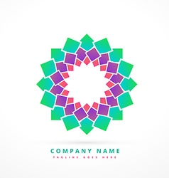 Abstract company logo template design sign vector