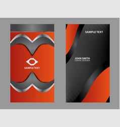 abstract logo circular design elements set vector image