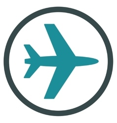 Airport Flat Icon vector image