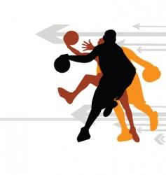 Basketball direction vector