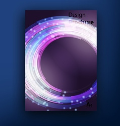 brochure booklet cover design templates collection vector image