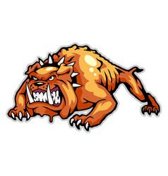 Cartoon animal mascot can use for sport logo vector
