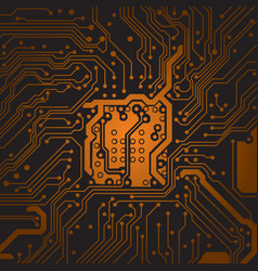 circuit board background texture computer vector image