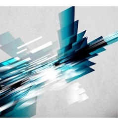 Flowing lines abstract background vector image
