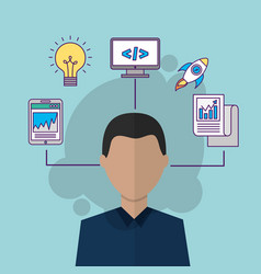 People start up business vector