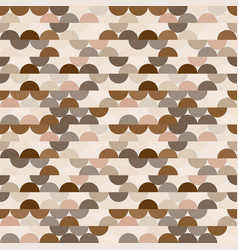 seamless halves rounds colourful coffee vector image