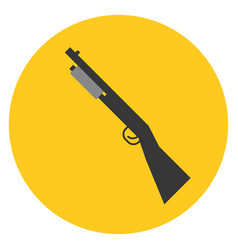 Shot gun vector