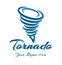 Whirlwind logo sign vector
