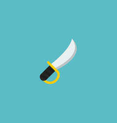 sword icon flat element of vector image
