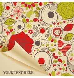 decorative paper vector image