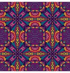 ethnic intricate seamless tribal pattern vector image vector image