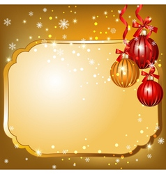 new year blank vector image