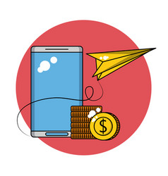 Business and technology vector