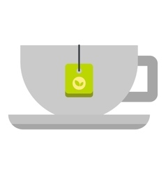 Coffee cup icon flat style vector