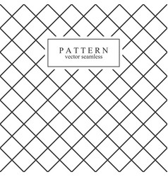 Grid minimal seamless pattern vector