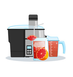 juicer or blender for making juices and fruit vector image