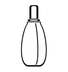 perfume icon simple style vector image