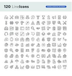 Set premium concept icons vector