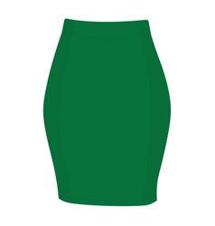 Skirt template design fashion woman - women skirt vector