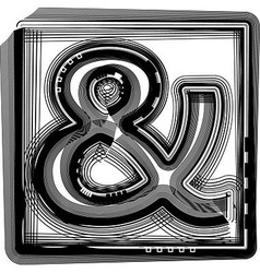Striped Symbol vector