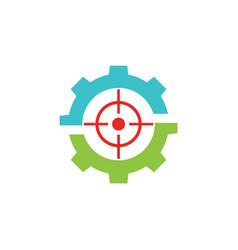 Target game gear logo vector
