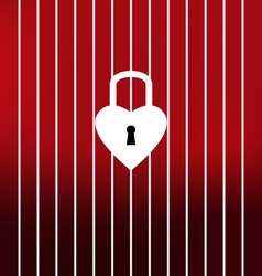 Unlock your heart this Valentines Day vector
