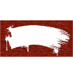 grungy old wall vector image