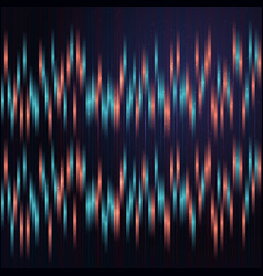 anaglyph background with blue and red vertical vector image