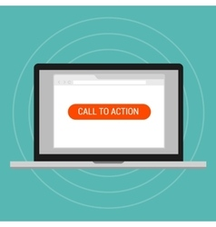 Call to action landing page optimization effective vector