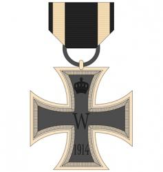 German iron vector image