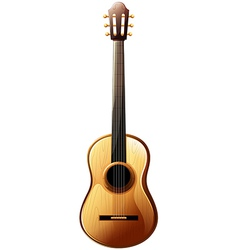 A classical guitar vector image vector image