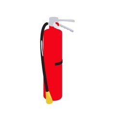 Fire extinguisher icon cartoon style vector image