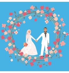Muslim marriage vector images 38 man woman couple relationship marriage in islam vector m4hsunfo
