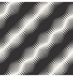 ornate striped pattern vector image