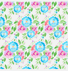 Pattern bright colors simple on a white vector
