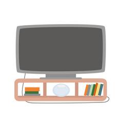 plasma tv screen monitor vector image