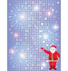 Santa pattern vector