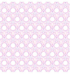 seamless pattern of geometric colored shapes vector image