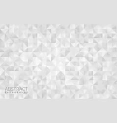white geometrical abstract background design vector image