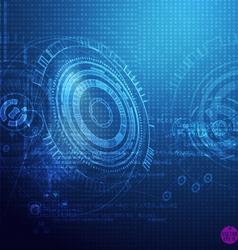 Techno2 vector image
